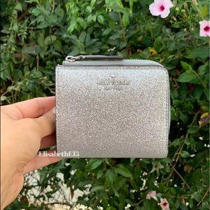 Kate Spade Joeley Glitter Bifold Wallet